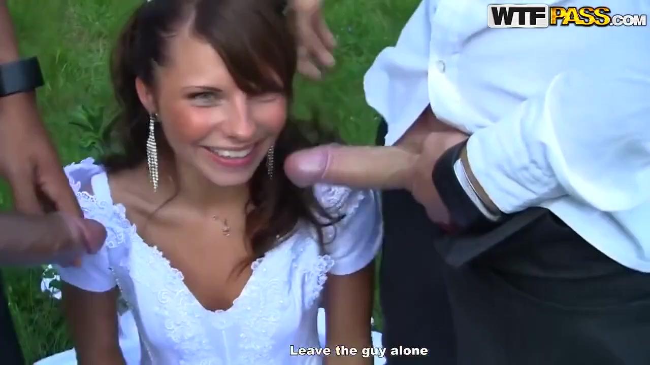 Распутную невесту пустили по кругу