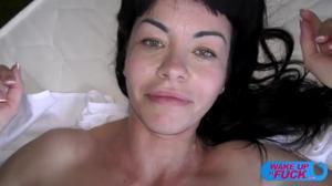 Порно кастинг брюнетки Саши - скриншот #12