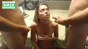 МЖМ с молодой в порно чате - скриншот #15