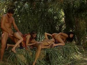 Медовый месяц на Карибах (порно фильм) - скриншот #6