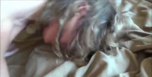 Волосатый муж снял от первого лица, как отпердолил киску кудрявой жены вместе с ее любовником - скриншот #20