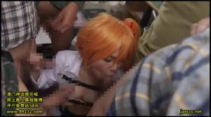 Разные порно видео с молодыми японками в ярких париках - скриншот #11