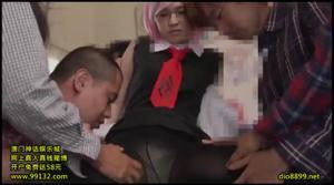 Разные порно видео с молодыми японками в ярких париках - скриншот #16